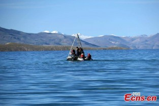 China's second Qinghai-Tibet research team completes scientific survey at Co Ngoin Lake