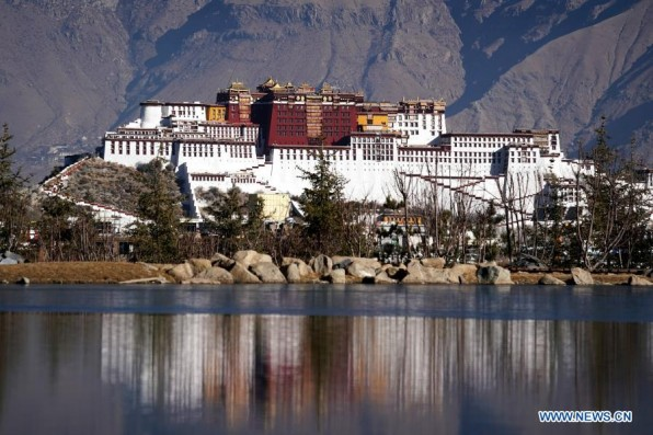 View of Potala Palace